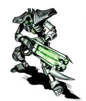 Necron immortal by Delpheus