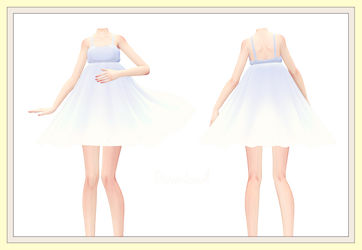 [MMD] Summer Dress 2# Download! by AyaneFoxey