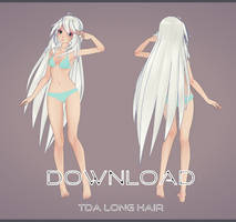 [MMD] TDA Long Hair Download! (Update) by AyaneFoxey