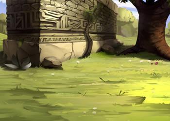 Grass by Worldevour