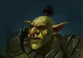 Goblin Warboss by RMangano
