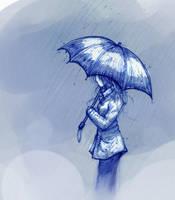 Rain by DreamerWhit