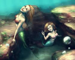 Mermaid Memories by DreamerWhit