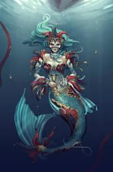 Masquerade Mermaid by DreamerWhit