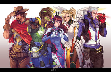 Overwatch Anniversary Momocon 2017 by DreamerWhit