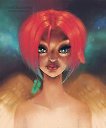 Angel by Bentanana