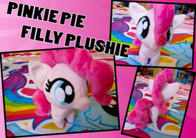 Pinkie Pie Filly Plush by dream-quill