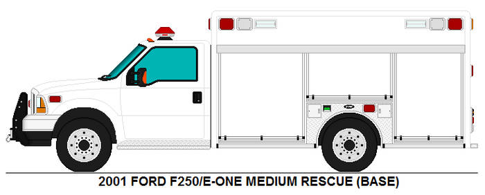 Ford F-250 E-ONE Medium Rescue base by MisterPSYCHOPATH3001