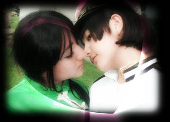 vietnam and japan kiss by AnnitakaOru