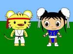 Ni hao, Street Fighter by Gamekirby