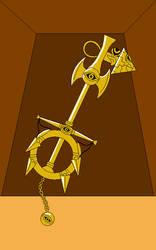 Millennium Items' Keyblade by Gamekirby