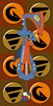 Pokemon Keyblade 445 - Mega Garchomp by Gamekirby