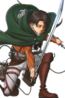 Levi Ackerman Render by Buntglass