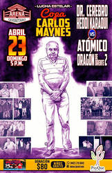 CARTEL LUCHA LIBRE 23 ABRIL by PORTAVERITAS