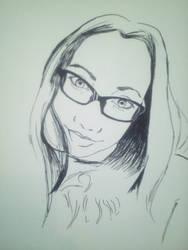 Portrait of a nice friend by gszabi