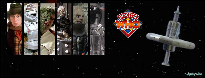 Doctor Who banner season 12 Tom Baker by nancywho