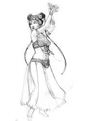 Tribal Dance by laurenmegan-art
