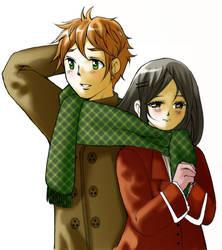 Rui and Niwa by shadychan