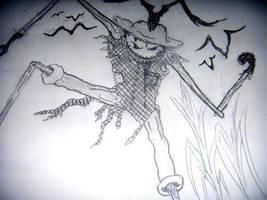 scare crow by canieatyourheart