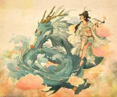 Water Dragon 2012 by feng-gao-long