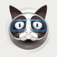 Grumpy Cat by dualform
