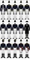 Uniforms of the United States Navy, 1810-1815 by CdreJohnPaulJones