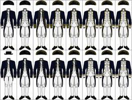 Uniforms of the Royal Navy, 1767-1787 by CdreJohnPaulJones