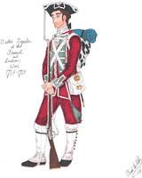 The Redcoat - 1763 by CdreJohnPaulJones