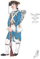 The French Regular - 1763 by CdreJohnPaulJones