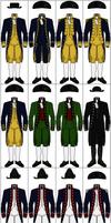 Uniforms of the Federal Navy, 1794-1799 by CdreJohnPaulJones