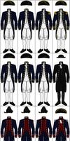Uniforms of the United States Navy, 1800-1808 by CdreJohnPaulJones