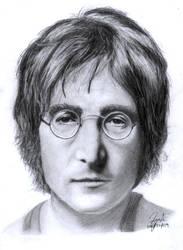 John Lennon better quality by thesharkman