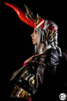 Final Fantasy:XIV Summoner by dragony226