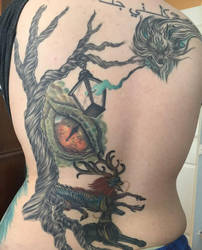 Tattoo progress 2 by RacktheJipper