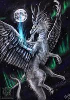 .: Burning Nightsky :. by Raveruna