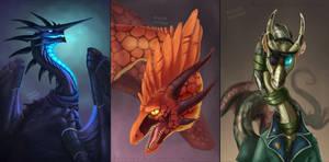 Daily Dragon Art Trades - Flight Rising by Raveruna