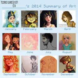 2014 Art Summary by ReadLikeMad