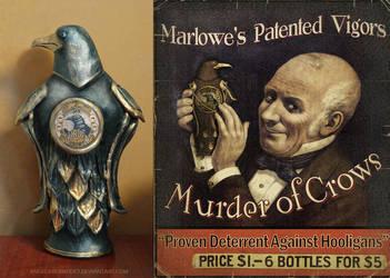 Murder of Crows replica 1.0 by AngelaBermudez