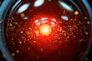HAL 9000 by AngelaBermudez