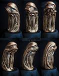Chestburster Sculpture by AngelaBermudez