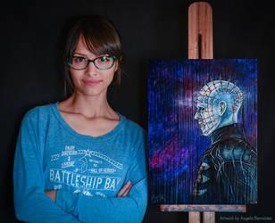 Pinhead Hellraiser by AngelaBermudez