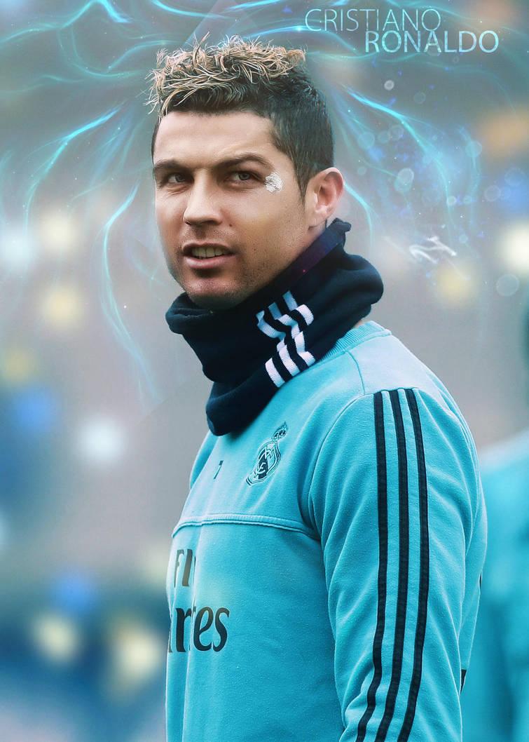 Cristiano Ronaldo (CR7) Retouch Mobile Screen Wall by AqibJavedFx