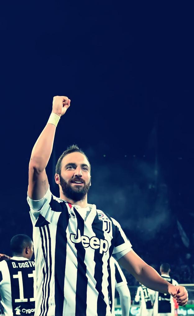 Gonzalo Higuain Retouch Juventus by AqibJavedFx