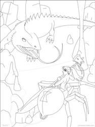 Battle by phantom-inker