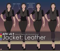 AFH: Jacket - Leather by EMCCV
