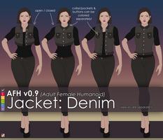 AFH: Jacket - Denim by EMCCV