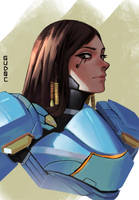 Pharah by GuD0c