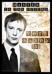 Vote Saxon Poster by chriscastielredy