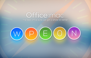 Office:mac Icon Preview by winsontsang