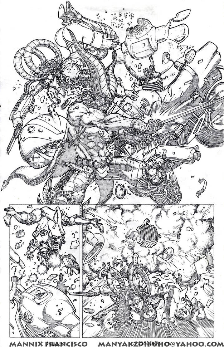 Cybernary Sample Pages3 by MannixFrancisco